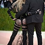 Pictured: Madonna and Riccardo Tisci