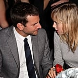 Bradley Cooper chatted with girlfriend Suki Waterhouse at the afterparty.
