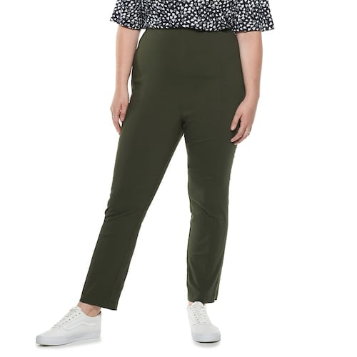 POPSUGAR Plus Size Essential Crop Pants