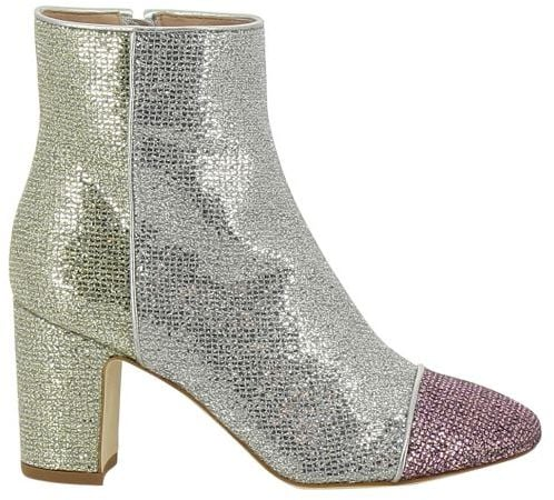 825ae36d2399 Polly Plume Glitter Ankle Boots | Best Glitter Boots | POPSUGAR ...