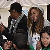 Beyonce and Jay-Z Donating Instruments