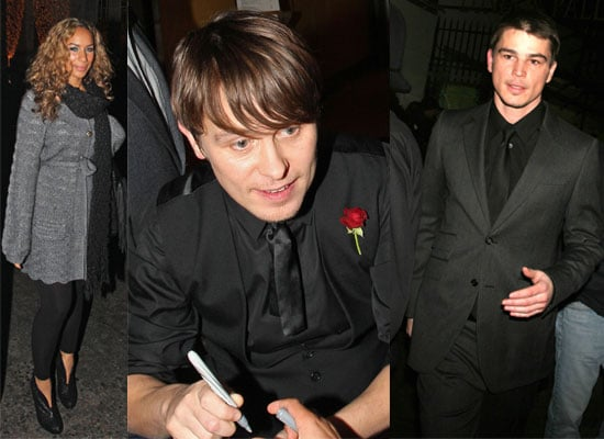 Photos Of Josh Hartnett, Mark Owen, Leona Lewis And Other Performers Outside The Royal Variety Performance 2008