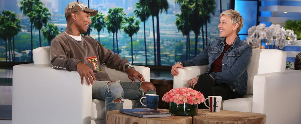 Watching Pharrell Williams and Ellen DeGeneres Talk About Love and Equality Should Be Mandatory