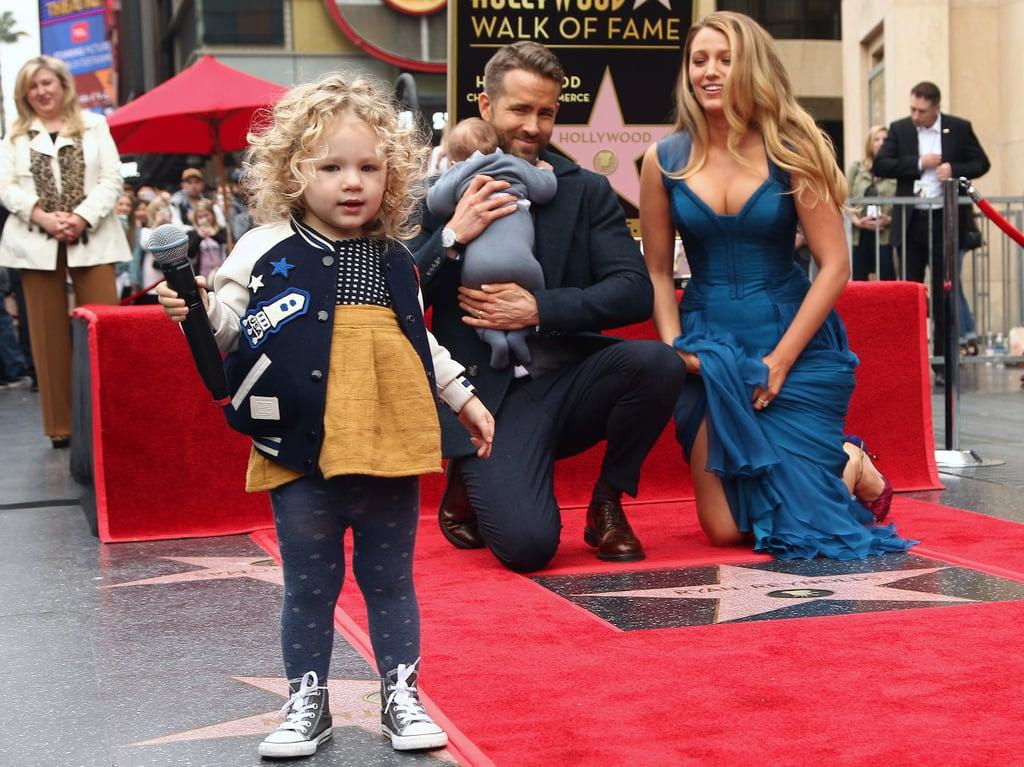 Ryan Reynolds Blake Lively's Daughter James