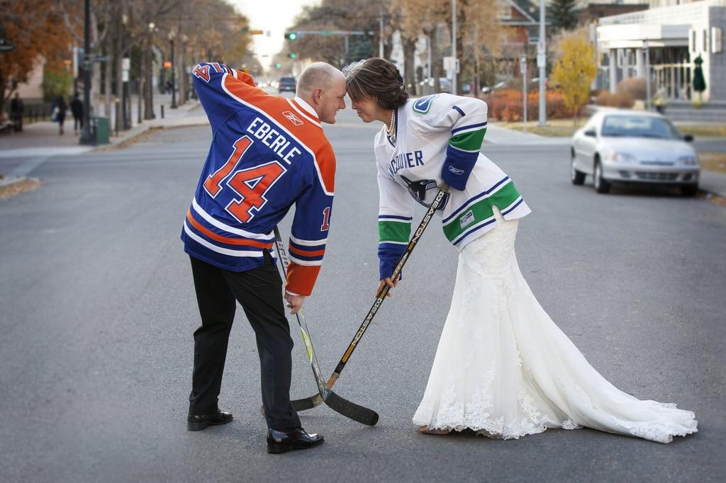 Hockey Wedding Ideas Popsugar Love Sex