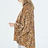 Zara Handmade Velvet Kimono