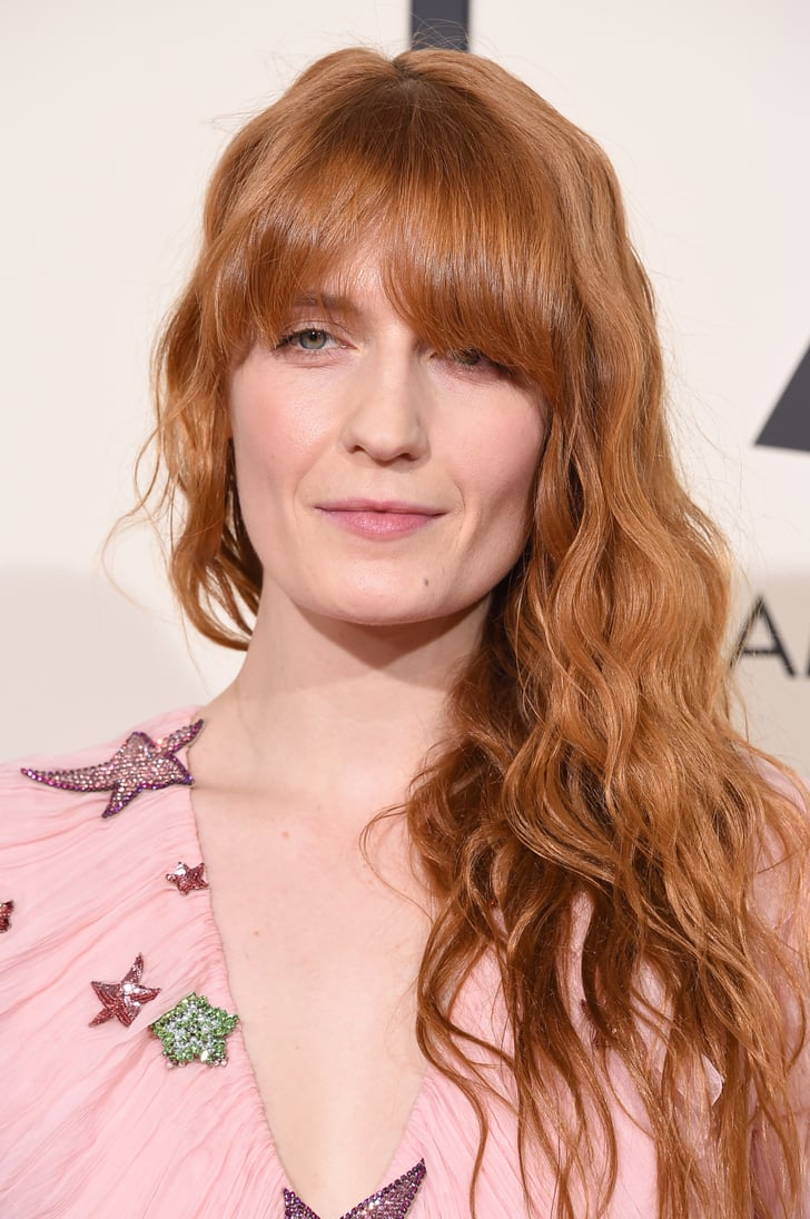 Florence Welch Hair And Makeup At The Grammys 2016 Red