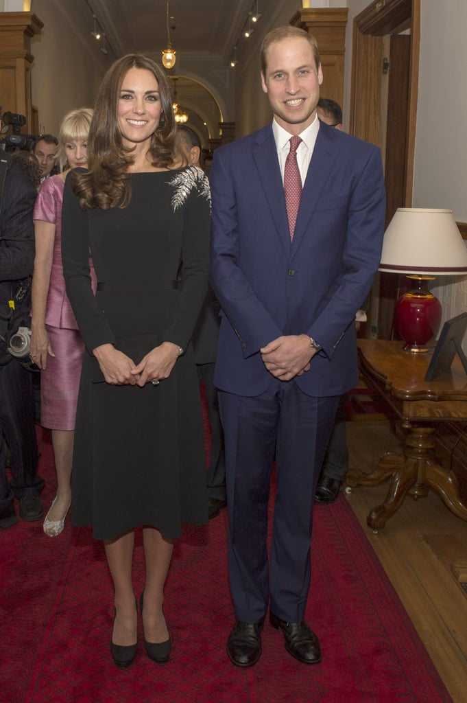 Kate Middleton in Jenny Packham