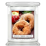 Apple cider doughnut candle ($25)
