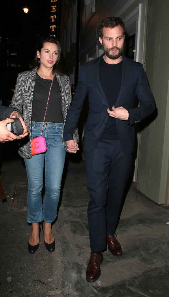 jamie dornan and amelia warner out in london jan 2018