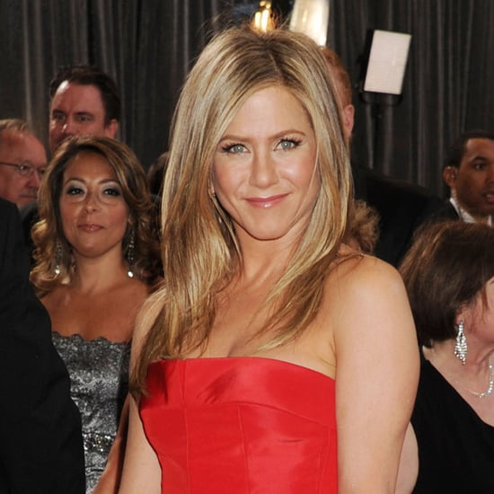 Jennifer Aniston's Wedding Hair With Justin