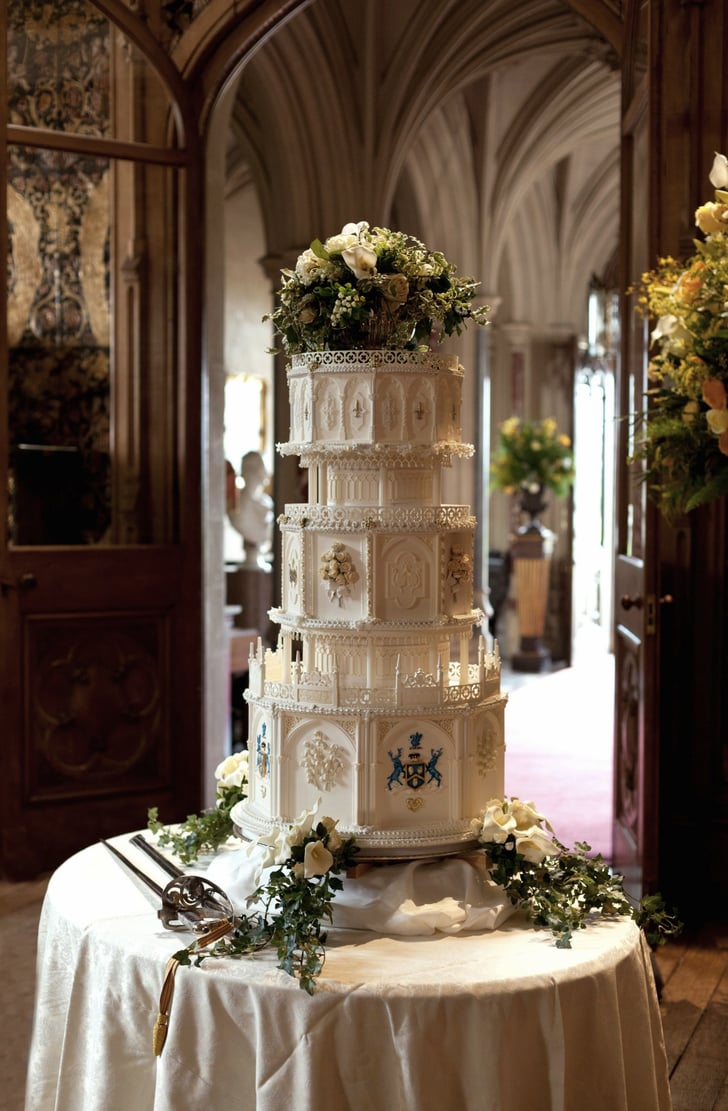 B And B Auto >> The cake is, fittingly for Downton, grand and over-the-top. | Downton Abbey Wedding Pictures ...