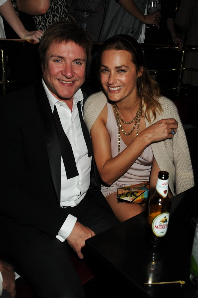"Duran Duran lead singer Simon Le Bon has been married to supermodel Yasmin Le Bon since 1985. The couple have three daughters and have even worked together: Yasmin is part of a group of models who star in the music video for Duran Duran's song ""Girl Panic."""