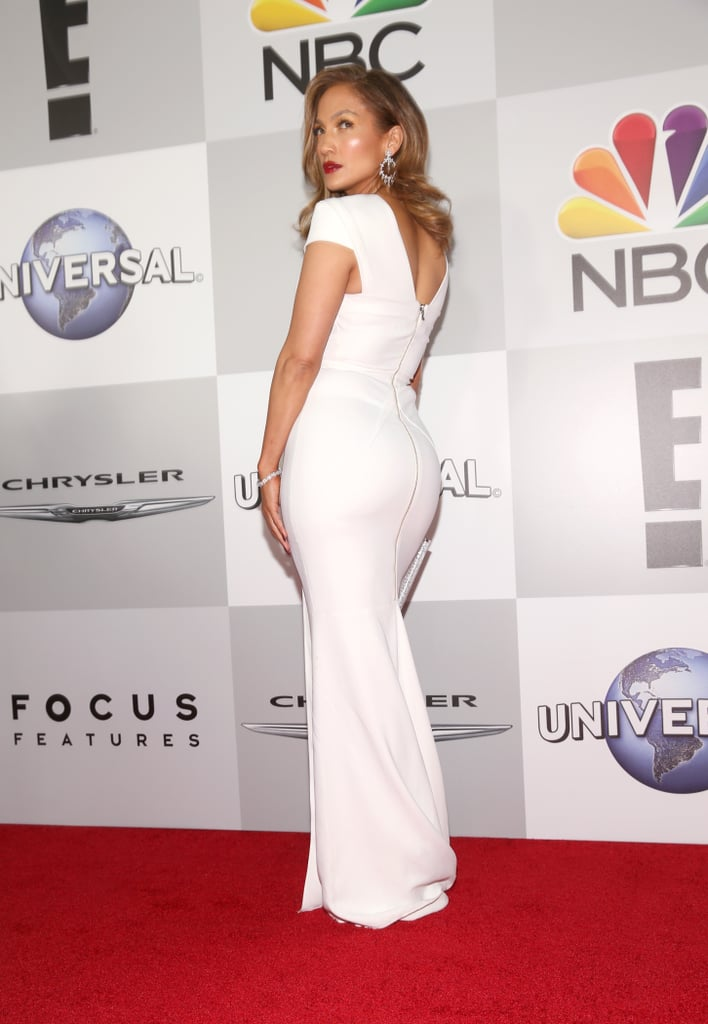 At the NBC Golden Globes After Party