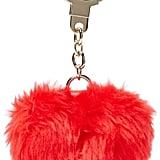 Kate Spade Heart Pouf Keychain