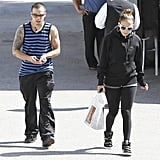 J Lo Sticks Close to Casper During a Loved-Up Lunch Date