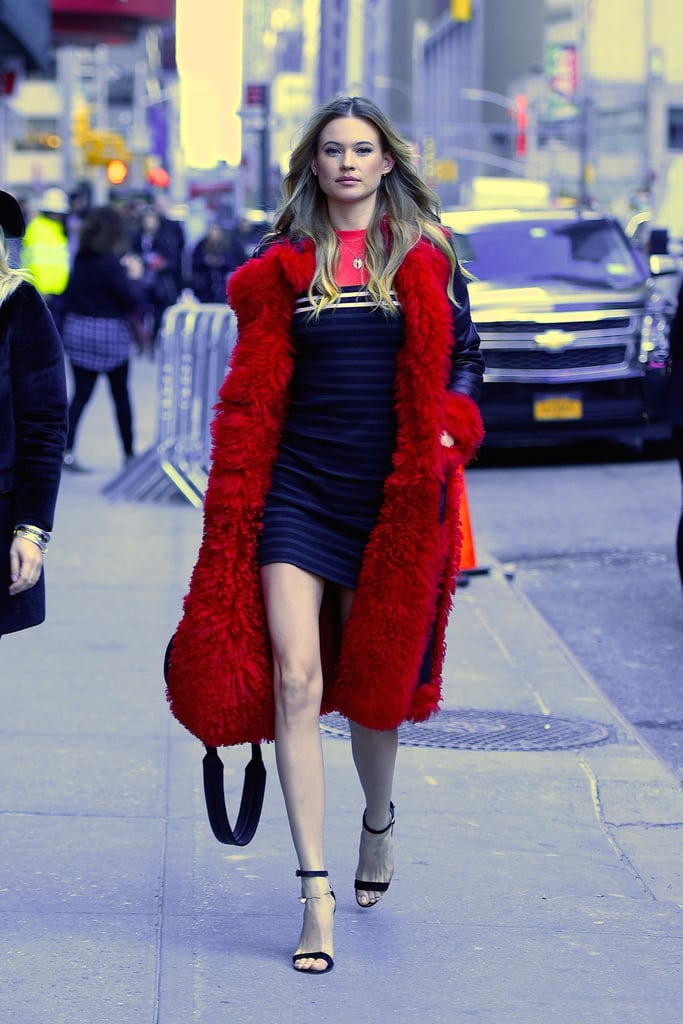 Victoria 39 S Secret Models 39 Street Style Popsugar Fashion