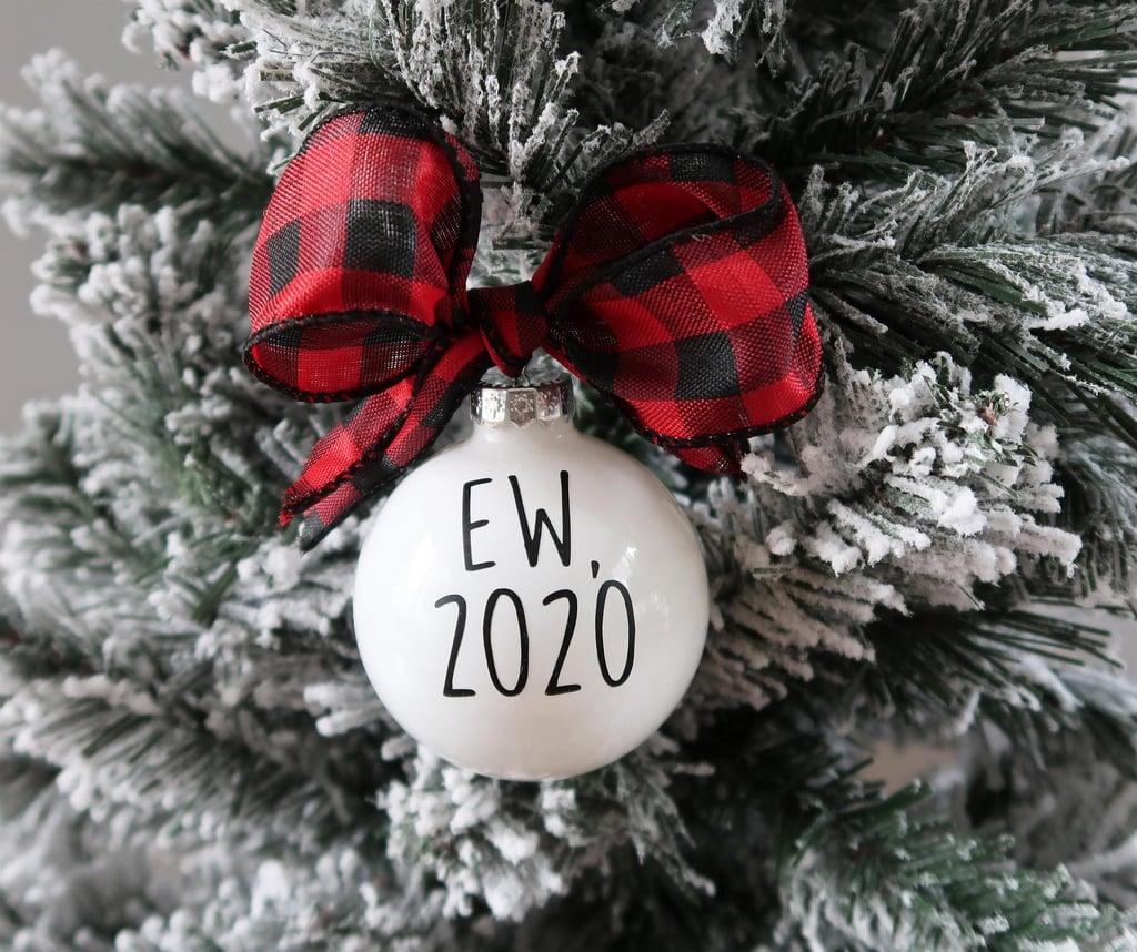 Ew 2020 Ornament
