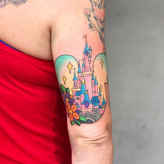 Disney Castle Tattoos