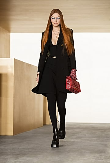 Versace's Fall/Winter 2021 Collection Stars Gigi Hadid
