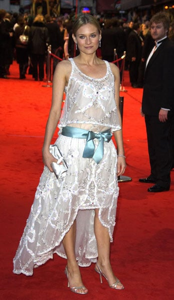 Diane Kruger at the 2005 BAFTA Film Awards