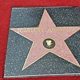 Scarlett Johansson is the latest film star to join the Hollywood Walk of Fame.