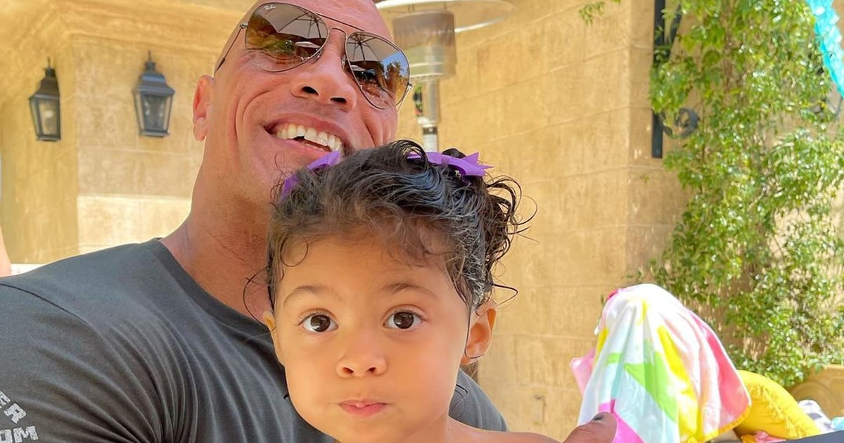 """Dwayne Johnson Celebrates His 3-Year-Old's Birthday With a Sweet Message: """"My Greatest Joy"""""""