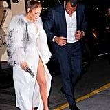 J Lo's Thigh-Slit Elie Saab Dress