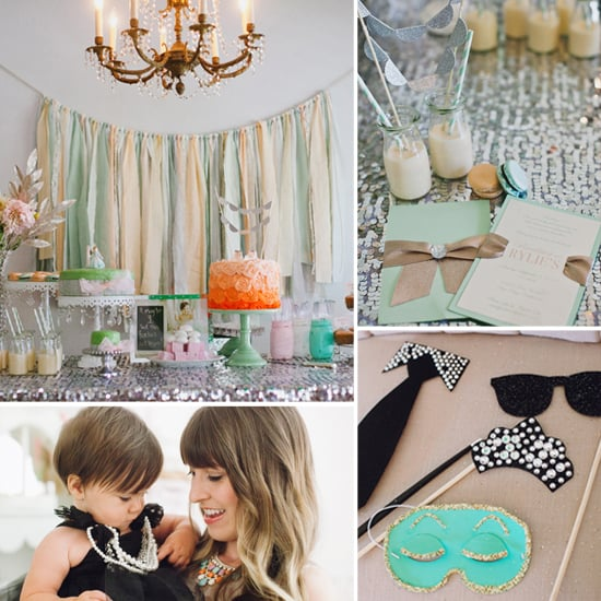 A Chic Tiffany's-Inspired First Birthday Party