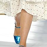 Molly Goddard Shoes on the Runway at London Fashion Week