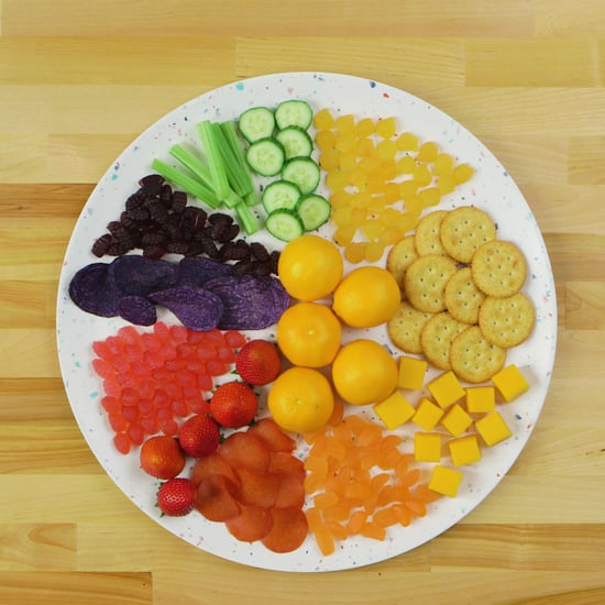 How to Create a Rainbow Snack Board