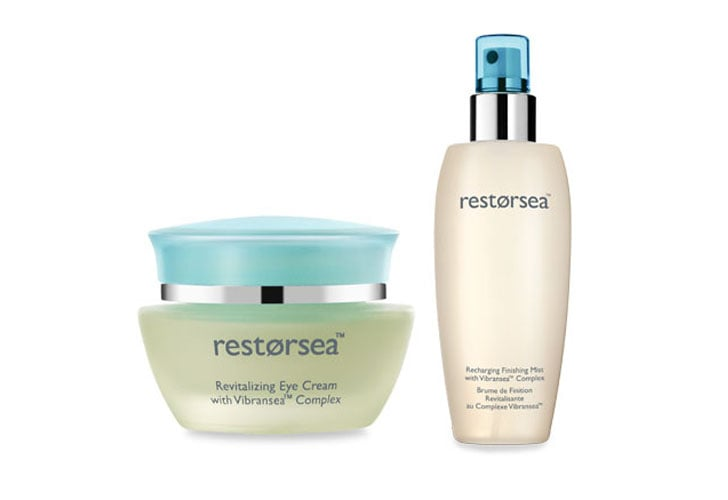 Revitalizing Eye Cream Recharging Finishing Mist