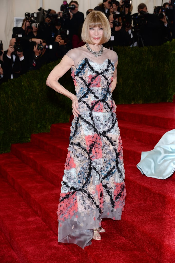Anna Wintour at the 2014 Met Gala