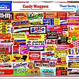 Candy Wrappers 1000 Piece Collage Jigsaw Puzzle