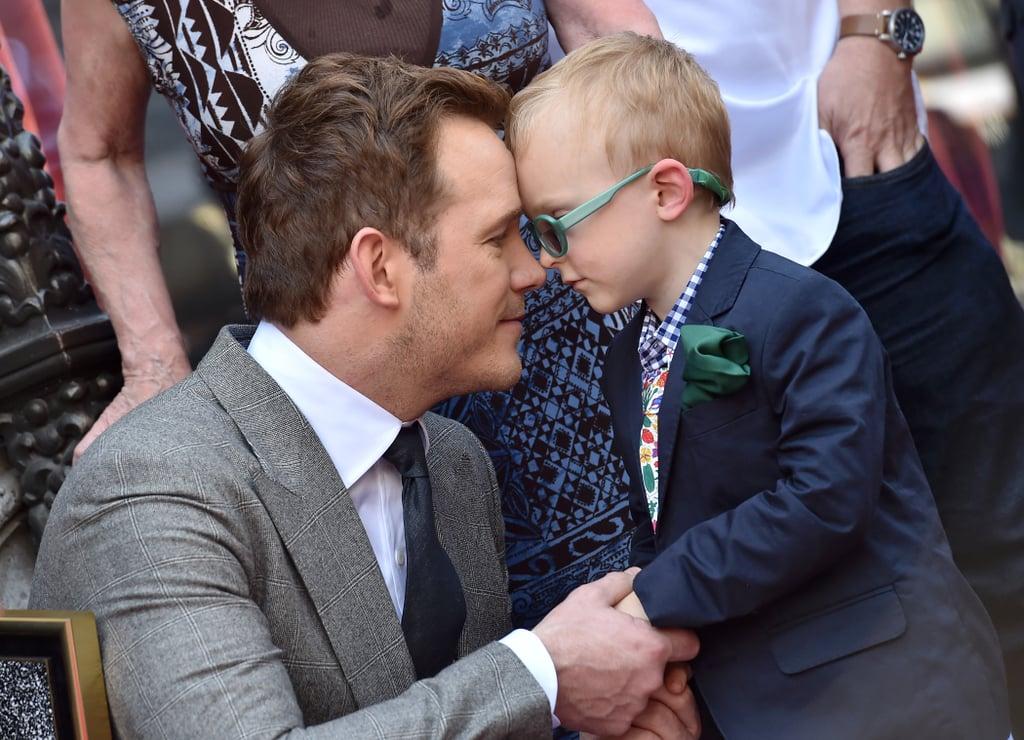 Chris Pratt and Anna Faris shattered the hearts of many when they announced their split in early August. While we're still trying to recover from the heartbreaking news, the one thing that remains steady is their love for their 4-year-old son, Jack. Over the weekend, Chris was spotted taking Jack to church, and that's just a small sampling of what a down-to-earth dad he is. Read on to see more of Chris and Jack's adorable father-son bond.        Related:                                                                                                           Chris Pratt's Dating History Is 1 of the Smallest in Hollywood