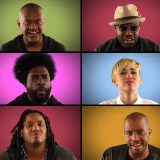 "Miley Cyrus ""We Can't Stop"" With Jimmy Fallon and The Roots"