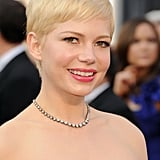 Michelle Williams at the 2012 Oscars.