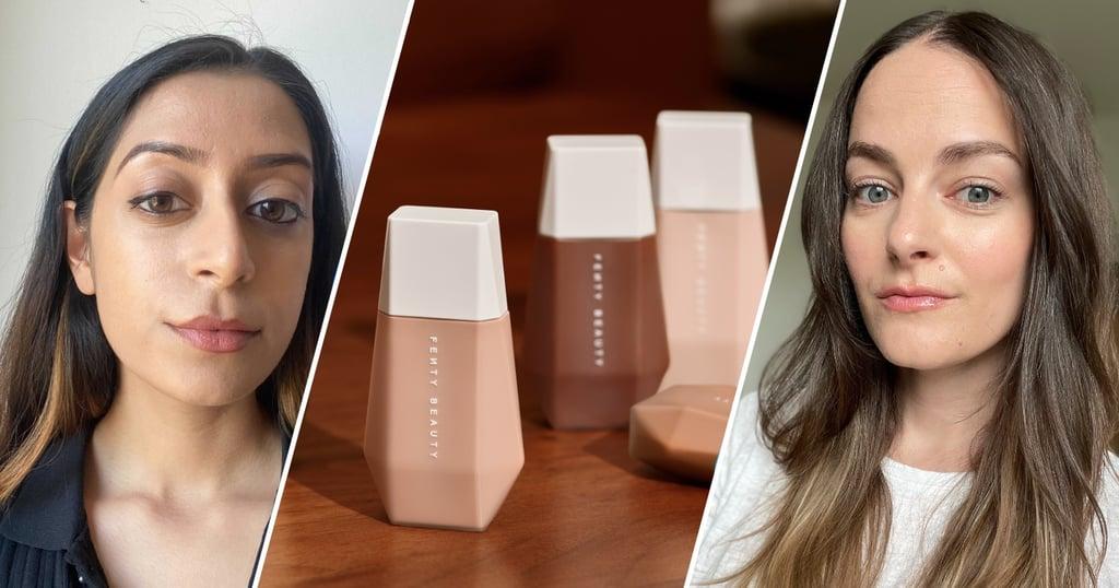 See Fenty Beauty Eaze Drop Skin Tint on Different Skin Tones