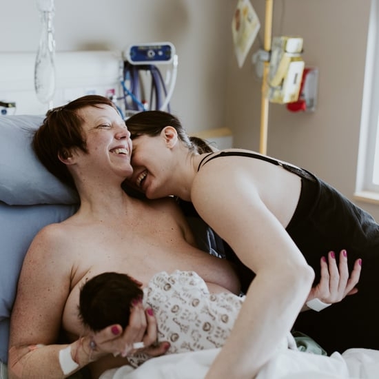 Same-Sex Couple's Birth Photos