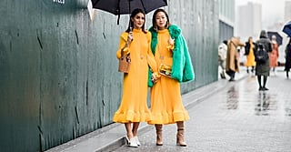 The Biggest Trend in Street Style May Just Be Coordinating Outfits With Your BFF