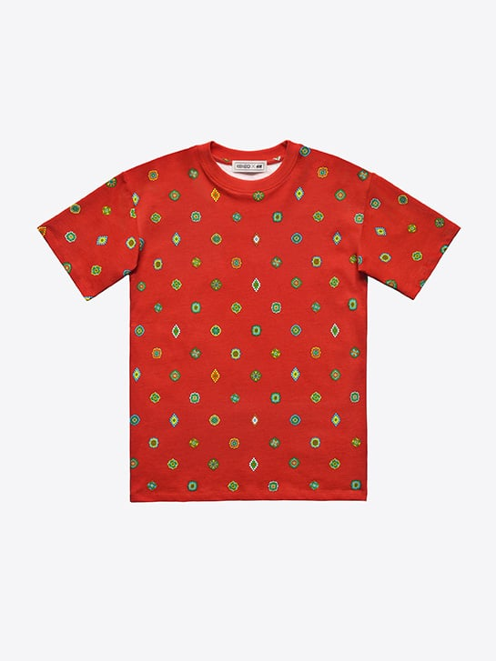 Patterned T-shirt ($35)