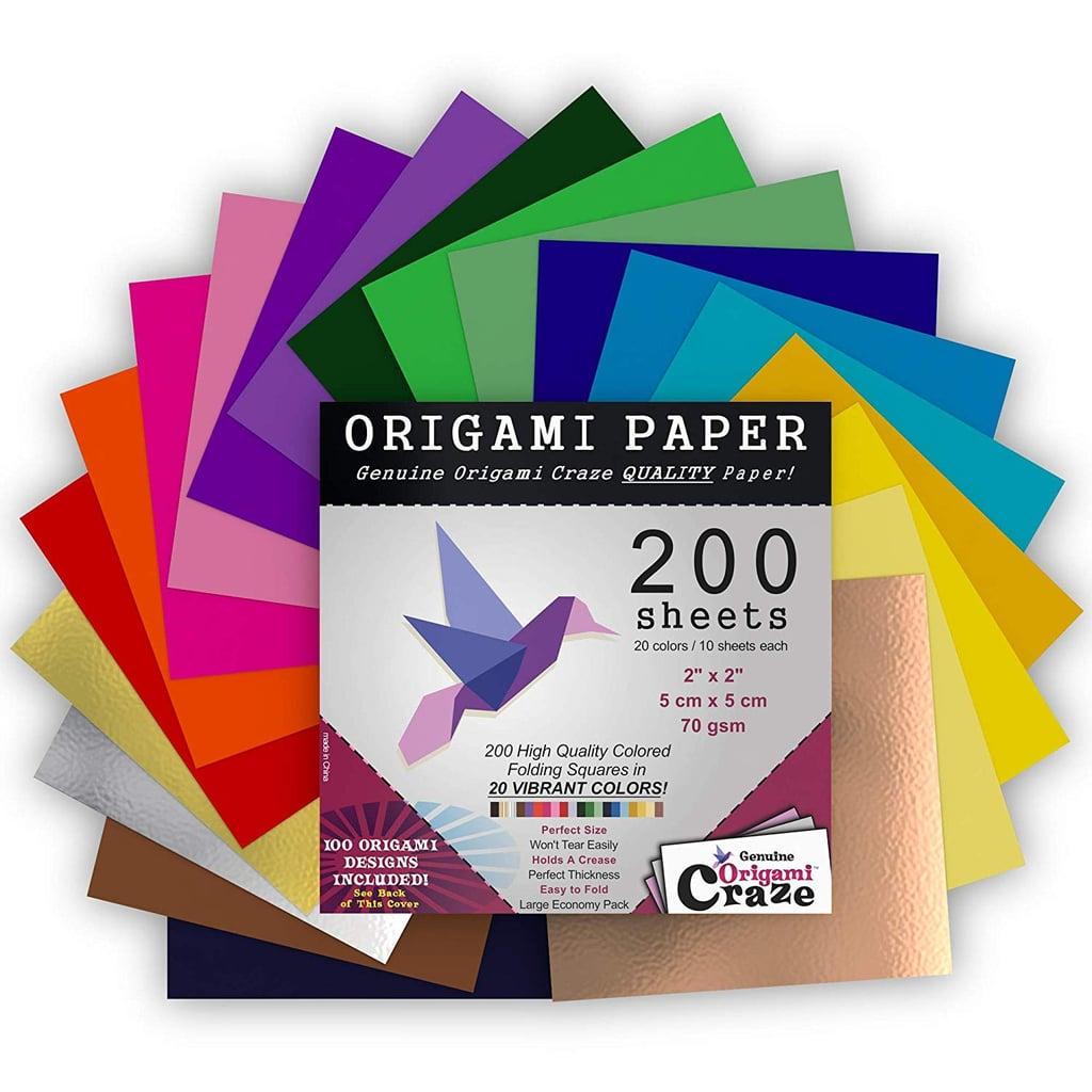 Mini Origami Paper | Last-Minute Stocking Stuffers on ... - photo#3