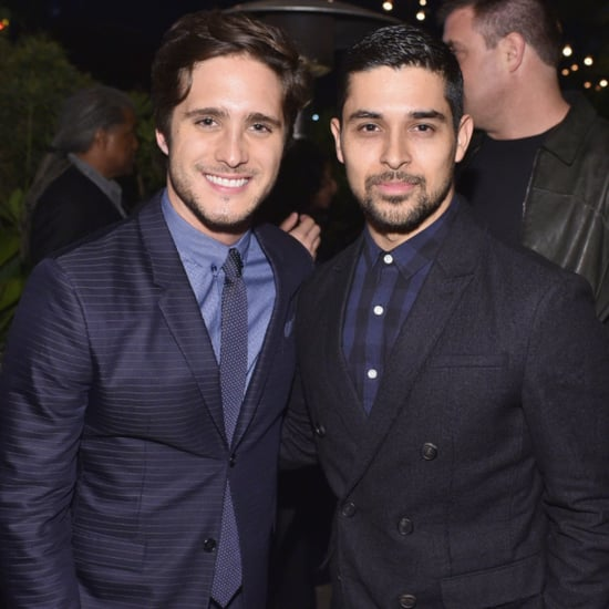 Diego Boneta and Wilmer Valderrama at GQ Men of the Year