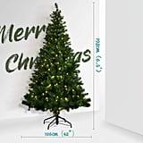 OUSFOT Christmas Tree Prelit With 320 LED Lights