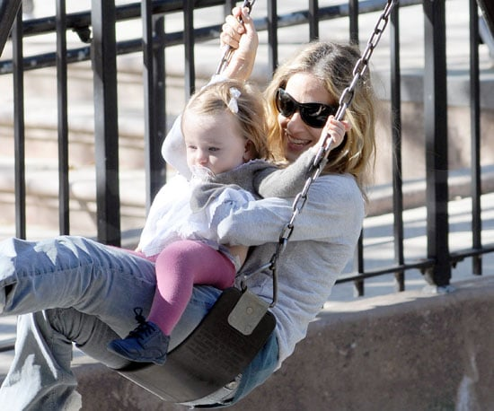 Slide Picture of Sarah Jessica Parker at Twins at Park