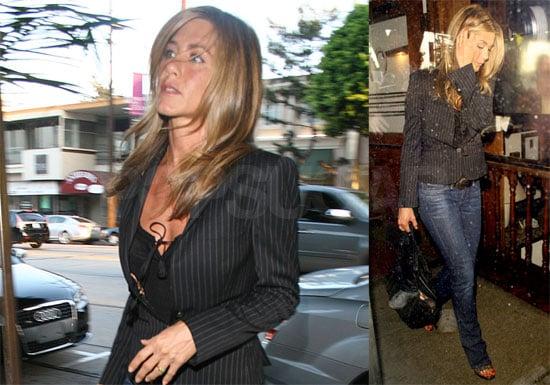 Photos of Jennifer Aniston at Madeo