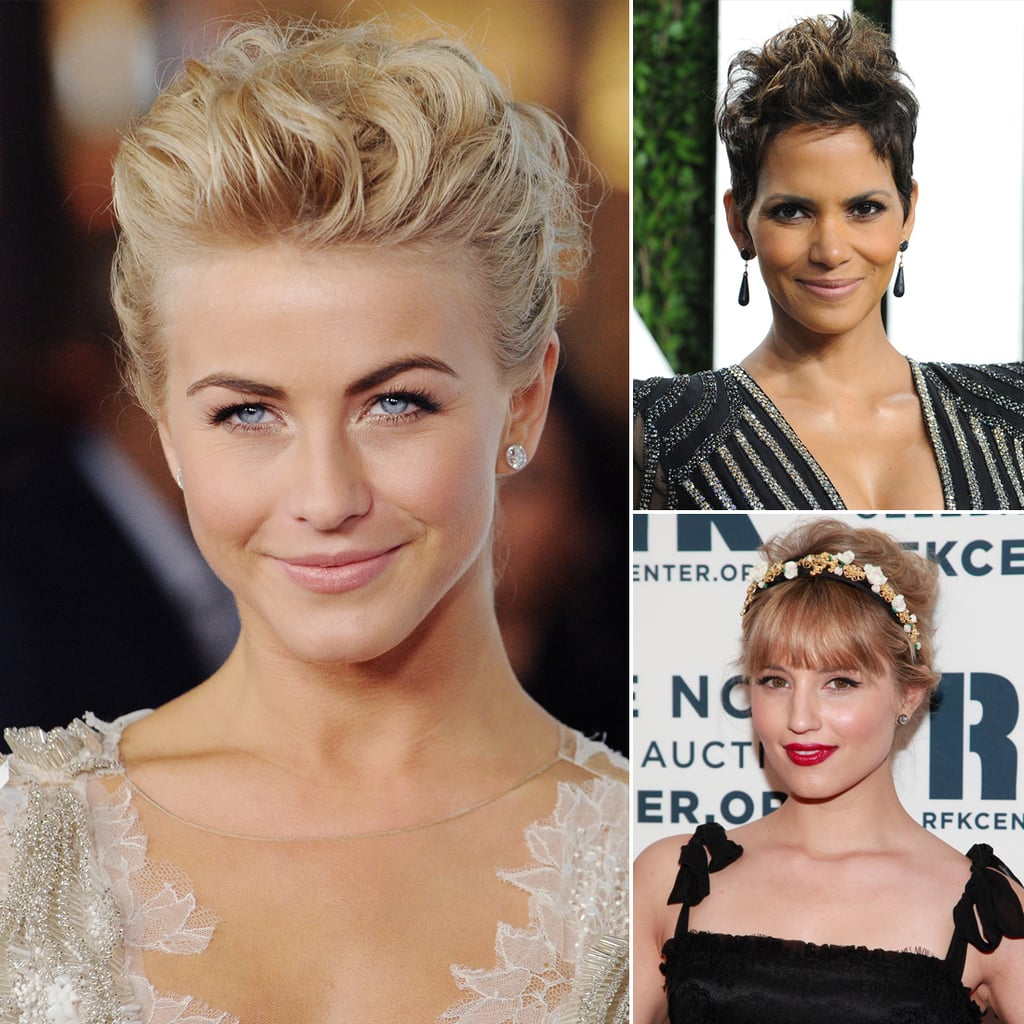 wedding hairstyles for short hair | popsugar beauty