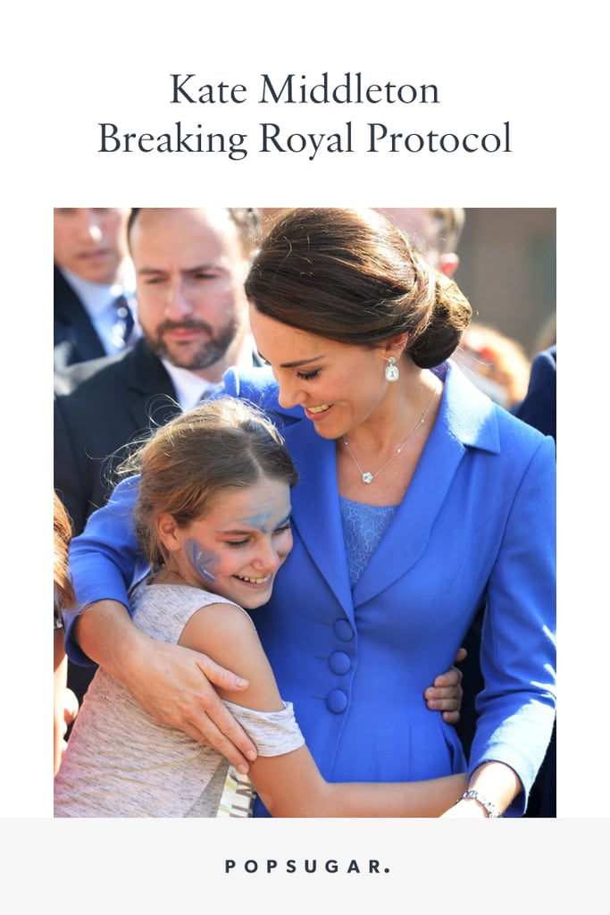 Kate Middleton Breaking Royal Protocol