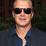 Chris Noth posed in a pair of sunglasses at Coach's Summer Party on the High Line in NYC.