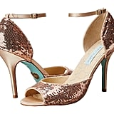 Betsey Johnson Sequined Heels